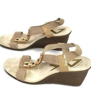 Anne Klein Sport Wedge Sandals